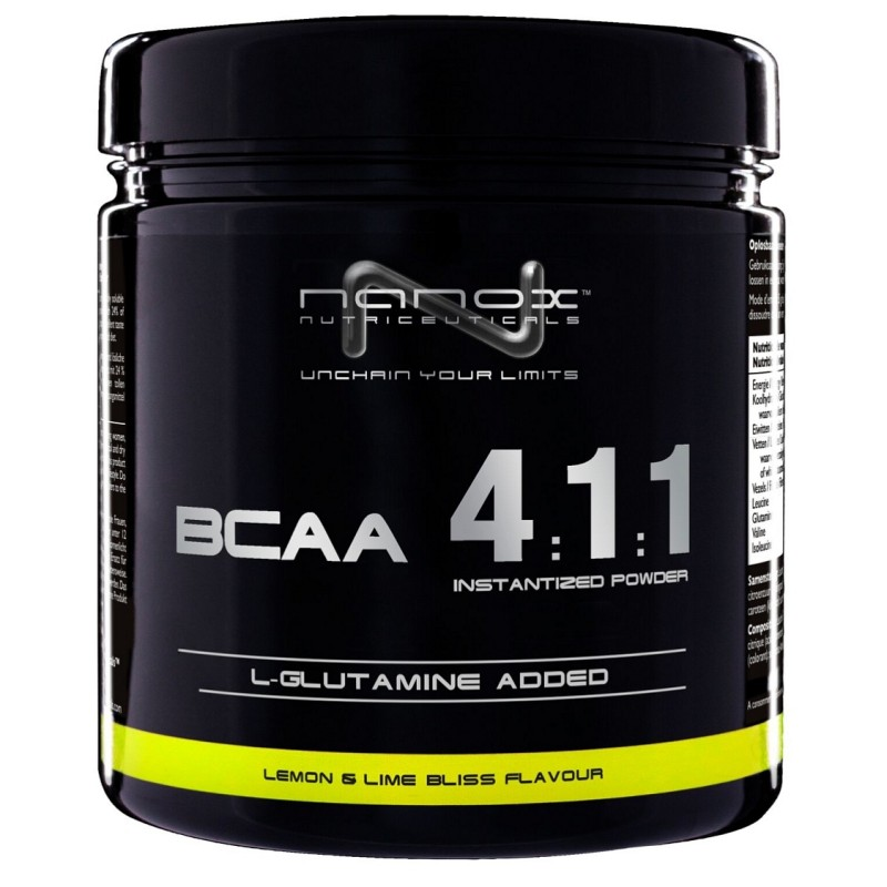 BCAA POWDER 4.1:1 LIMONA